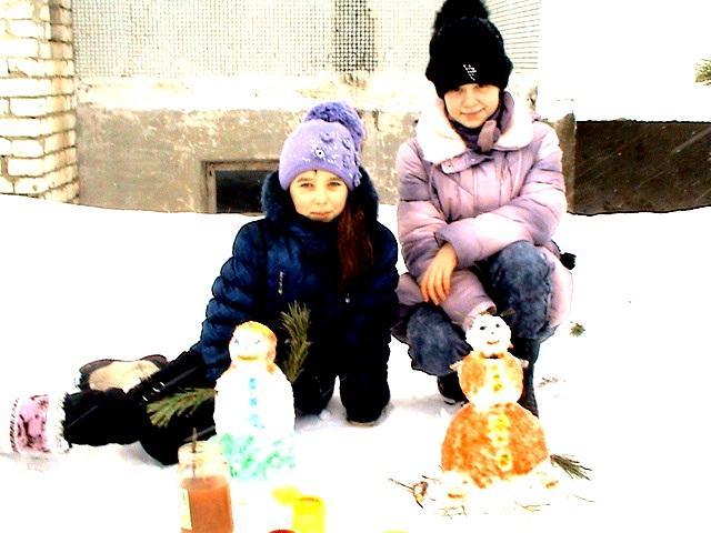 """""""Волшебное время - зима"""": подведение итогов конкурсов на лучшего снеговика и лучшую кормушку"""