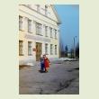 В доме офицеров 28-го гвардейского Ленинградского ордена Кутузова 3-й степени авиаполка по выходным дням устраивались танцы; здание постройки 50-х годов, двухэтажное, с балконом