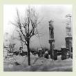 Поселок Андреаполь после освобождения от немецко-фашистских захватчиков. Январь 1942 года